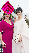 """30/07/2015 report free : Winners Announced in Kilkenny Best Dressed Lady, Kilkenny Best Irish Design & Kilkenny Best Hat Competition at Galway Races Ladies Day <br /> At the event was RTE""""s Maura Derrane and Mandy Maher Catwalk Models  . Photo:Andrew Downes, xposure"""