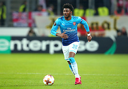 Ainsley Maitland-Niles of Arsenal - Mandatory by-line: Robbie Stephenson/JMP - 23/11/2017 - FOOTBALL - RheinEnergieSTADION - Cologne,  - Cologne v Arsenal - UEFA Europa League Group H