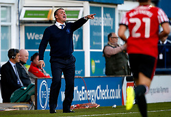 Bury manager Lee Clark shouts to his players - Mandatory by-line: Matt McNulty/JMP - 10/08/2017 - FOOTBALL - Gigg Lane - Bury, England - Bury v Sunderland - Carabao Cup - First Round