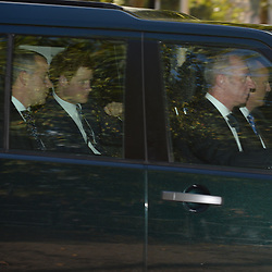 Prince Harry arriving for Prince George's christening at St.James's Palace in London, United Kingdom,  Wednesday, 23rd October 2013. Picture by Andrew Parsons / i-Images