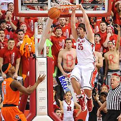 NCAA Basketball - #2 Syracuse at Rutgers - Feb 19, 2012