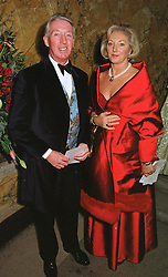MR & MRS PETER BECKWITH, he is the multi-millionaire businessman and parents of Tamara Beckwith,  at a party in London on 7th December 1998.<br /> MMT 39