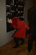 """Victoria Fernandez. The private views for Anna Piaggi's exhibition """"Fashion-ology"""" and also 'Popaganda: the life and style of JC de Castelbajacat' the Victoria & Albert Museum on January 31  2006. © Copyright Photograph by Dafydd Jones 66 Stockwell Park Rd. London SW9 0DA Tel 020 7733 0108 www.dafjones.com"""