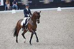 Scholtens Emmelie, (NED), Fenix<br /> Selectie 5 jarige WK paarden<br /> Dutch Championship Dressage - Ermelo 2015<br /> © Hippo Foto - Dirk Caremans<br /> 18/07/15