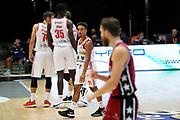 Taylor Brandon <br /> UNAHOTELS Reggio Emilia - AX Armani Exchange Milano<br /> Legabasket Serie A UnipolSAI 2020/2021<br /> Bologna, 27/09/2020<br /> Foto A.Giberti / Ciamillo-Castoria