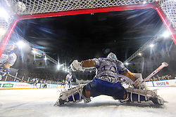 16.09.2012, Amphitheater, Pula, CRO, EBEL, Ice Fever, KHL Medvescak Zagreb vs UPC Vienna Capitals, 04. Runde, im Bild Michael Ouzas. Mi // during the Erste Bank Icehockey League 04th Round match betweeen KHL Medvescak Zagreb and UPC Vienna Capitals at the Amphitheater, Pula, Croatia on 2012/09/16. EXPA Pictures © 2012, PhotoCredit: EXPA/ Pixsell/ Zeljko Lukunic ****** ATTENTION - OUT OF CRO, SRB, MAZ, BIH and POL *****