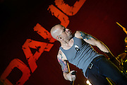 Daughtry performing at Red Hat Amphitheater