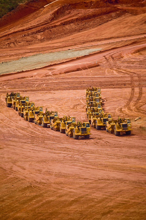 Jeceaba_MG, Brasil..Construcao de uma usina siderurgica em Jeceaba...The construction of the steel industry in Jeceaba...Foto: JOAO MARCOS ROSA / NITRO