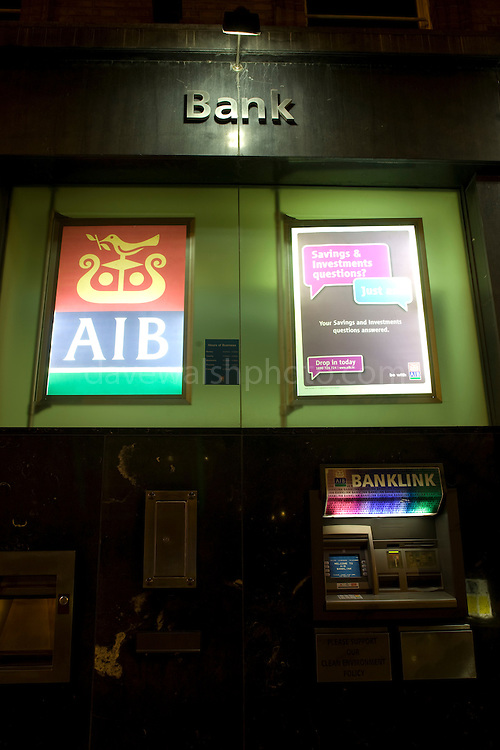 Sign outside the Allied Irish Bank Group headquarters, Ballsbridge, Dublin. AIB Group Headquarters, Ballsbridge, Dublin<br />