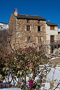 Houses in, Prats Balaguer, in the Pyrenees Orientales, France.
