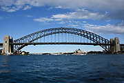Sydney Harbour Bridge and the Sydney Opera House