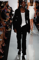 Armando wearing Micheal Kors Spring 2010 collection during Mercedes-Benz Fashion Week in New York, September 16, 2009