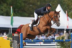 Modolo Zanotelli Marlon, BRA, Icarus<br /> Sires of the World<br /> Zangersheide FEI World Cup Breeding Jumping<br /> © Hippo Foto - Dirk Caremans<br /> 14/09/18