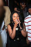 """Lil Kim at The Russell Simmons and Spike Lee  co-hosted """"I AM C.H.A.N.G.E!"""" Get out the Vote Party presented by The Source Magazine and The HipHop Summit Action Network held at Home on October 30, 2008 in New York City"""