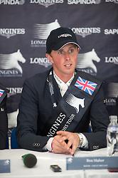 Maher Ben (GBR) <br />  CSI5* Longines Global Champions Tour London 2013 <br /> © Hippo Foto - Jon Stroud