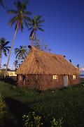 Grass shack, Kadavu, Fiji<br />