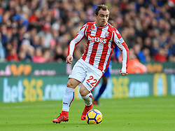Xherdan Shaqiri of Stoke City - Mandatory by-line: Paul Roberts/JMP - 04/11/2017 - FOOTBALL - Bet365 Stadium - Stoke-on-Trent, England - Stoke City v Leicester City - Premier League