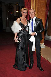 JEAN-CLAUDE JITROIS and SARAH MARSHALL at a party to celebrate 300 years of Tatler magazine held at Lancaster House, London on 14th October 2009.