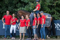 Team Switzerland<br /> European Championship Dressage - Hagen 2021<br /> © Hippo Foto - Dirk Caremans<br /> 09/09/2021