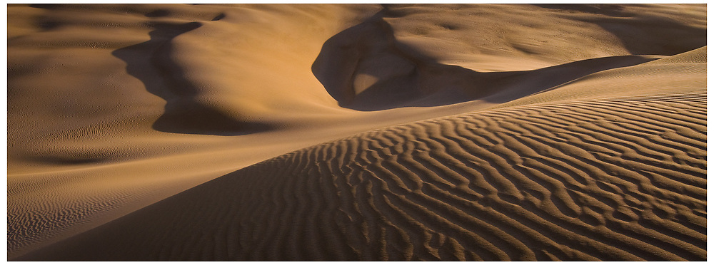 Te Paki sand dunes, Cape Reinga, Northland.