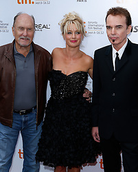 (L-R) Actor ROBERT DUVALL Actress KATHERINE LANASA and Filmmaker/Actor BILLY BOB THORNTON at the 'Jayne Mansfield's Car' Premiere during the 2012 Toronto International Film Festival at Roy Thomson Hall, September 13th 2012. Photo by David Tabor/ i-Images.