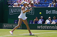 Angelique Kerber (GER) Vs Danielle Collins (USA) at the Nature Valley International at Devonshire Park, Eastbourne, United Kingdom on 27th June 2018. Picture by Jonathan Dunville.