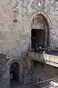 Israel, Jerusalem, Old City, Damascus Gate