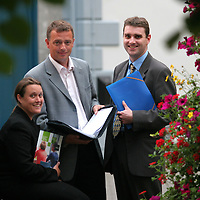 21.07.05.<br /> Theresa Mulvihill, Smart Marketing, Adam Coleman, Interventions and Carl Blake, Programme Manager Skillnets pictured at the Templegate Hotel, Ennis to address people on  ACIST Skillnets Network. Picture: Alan Place/Press 22.