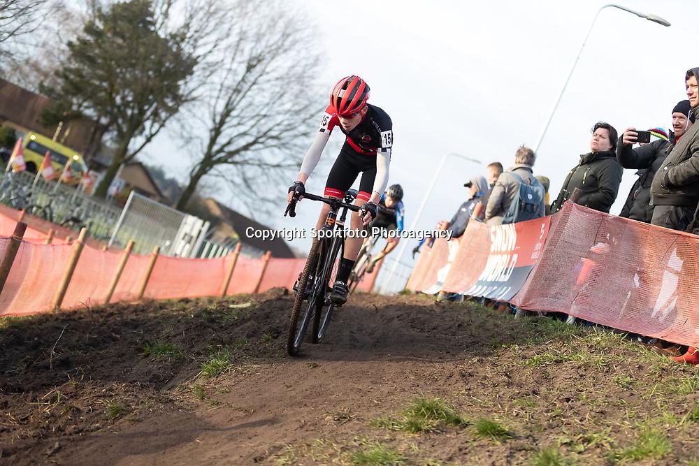 11-01-2020: Wielrennen: NK Veldrijden: Rucphen<br />Mees de Vos