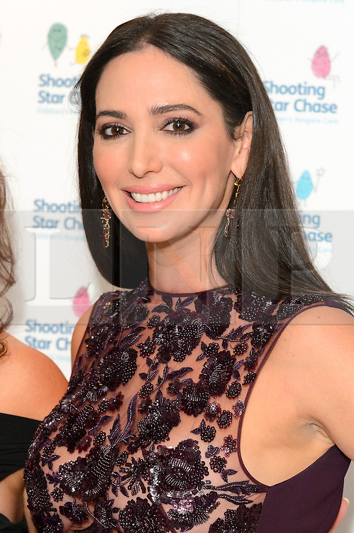 © Licensed to London News Pictures. 01/10/2016. LAUREN SILVERMAN attends the annual Shooting Stars CHASE fundraising ball.  London, UK. Photo credit: Ray Tang/LNP
