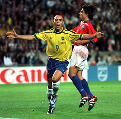 June 27, 1998 - 980627 Brasilien - Chile: Ronaldo.© Bildbyran - © 3. (Credit Image: © Bildbyran via ZUMA Press)