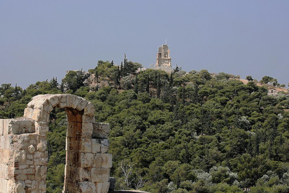 PHILOPAPPOS HILL, ATHENS GREECE