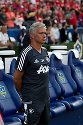 July 15, 2017 - Carson, California, U.S - Manchester United manager Jose Mourinho during the summer friendly between Manchester United and the Los Angeles Galaxy at the StubHub Center. (Credit Image: © Brandon Parry via ZUMA Wire)