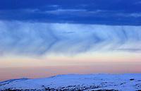 Skyer over den norske fjellheimen, clouds over the mountains