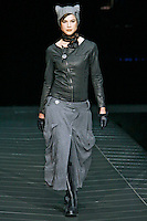 A model wearing the G-Star Fall 2009 Collection