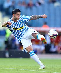 October 20, 2018 - Rome, Italy - AS Roma v Spal - Serie A.Kevin Bonifazi of Spal at Olimpico Stadium in Rome, Italy on October 20, 2018. (Credit Image: © Matteo Ciambelli/NurPhoto via ZUMA Press)