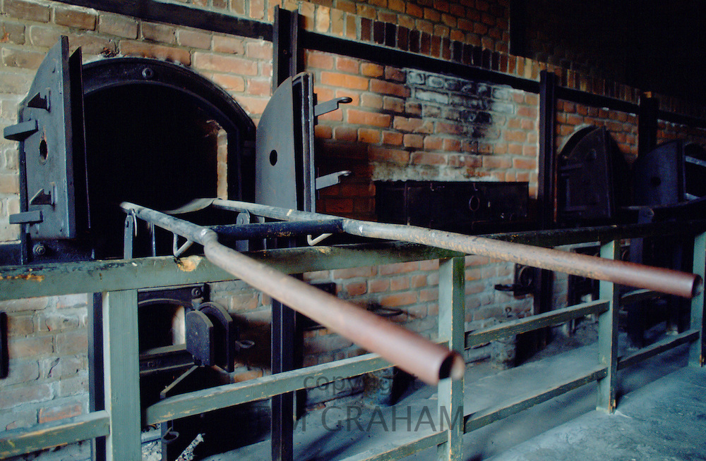 The gas ovens at  the Majdanek Concentration Camp in Poland.