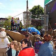 Opening speeltuin de Zoutkeet Hilversum