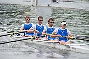 Henley Royal Regatta, Henley on Thames, Oxfordshire, 3-7 July 2013.  Wednesday  12:24:01   03/07/2013  [Mandatory Credit/Intersport Images]<br /> <br /> Rowing, Henley Reach, Henley Royal Regatta.<br /> <br /> The Prince Albert Challenge Cup<br /> Newcastle University