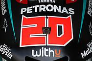 #20 Fabio Quatararo, French: Petronas Yamaha SRT during the HJC Helmets Motorrad Grand Prix Deutschland at Hohenstein-Ernstthal, Chemnitz, Saxony, Germany on 6 July 2019.