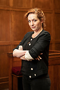 May0090006 . Daily Telegraph<br /> <br /> Features<br /> <br /> Actress Katherine Parkinson photographed at the former Gt Marlborough Street Magistrates Court in London's West End .<br /> <br /> The BAFTA award winner co stars in the new BBC2 comedy Defending The Guilty alongside Will Sharpe .<br /> <br /> London 11 June 2019