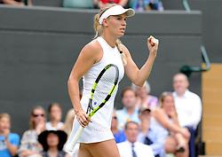 July 4, 2018 - Angleterre - Wimbledon - Caroline Wozniacki Danemark (Credit Image: © Panoramic via ZUMA Press)