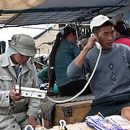 Mongolia. Ulaanbaatar. Narantuul the big open air , outside market  of   Ulanbaatar -    / Le grand  marche de Narantuul  Oulan Bator - Mongolie