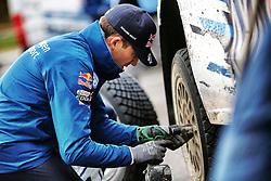 October 28, 2016 - PAYS GALLES - Sebastien Ogier (FR) / Julien Ingrassia (FR) - Volkswagen Polo WRC (Credit Image: © Panoramic via ZUMA Press)