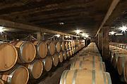 barrel aging cellar domaine maillard chorey-les-beaune cote de beaune burgundy france