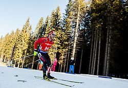 Macx Davies (CAN) during Men 12,5 km Pursuit at day 3 of IBU Biathlon World Cup 2015/16 Pokljuka, on December 19, 2015 in Rudno polje, Pokljuka, Slovenia. Photo by Vid Ponikvar / Sportida