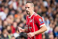 Bayern Munich Franck Ribery during Semi Finals UEFA Champions League match between Real Madrid and Bayern Munich at Santiago Bernabeu Stadium in Madrid, Spain. May 01, 2018. (ALTERPHOTOS/Borja B.Hojas)