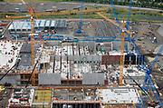 HILLSBORO,OREGON-7/19/11--Aerial views of Intel's D1X plant under construction. Photo by Randy L. Rasmussen/The Oregonian