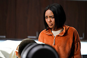 """Black Lightning -- """"The Book of Secrets: Chapter One: Prodigal Son"""" -- Image BLK211b_0072b.jpg -- Pictured: China Anne McClain as Jennifer -- Photo: Jace Downs/The CW -- © 2019 The CW Network, LLC. All rights reserved"""