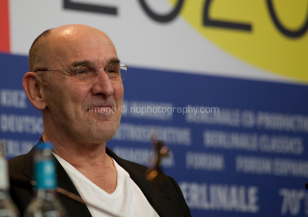 Cinematographer Hans Fromm at the press conference for the film Undine at the 70th Berlinale International Film Festival, on Sunday 23rd February 2020, Hotel Grand Hyatt, Berlin, Germany. Photo credit: Doreen Kennedy